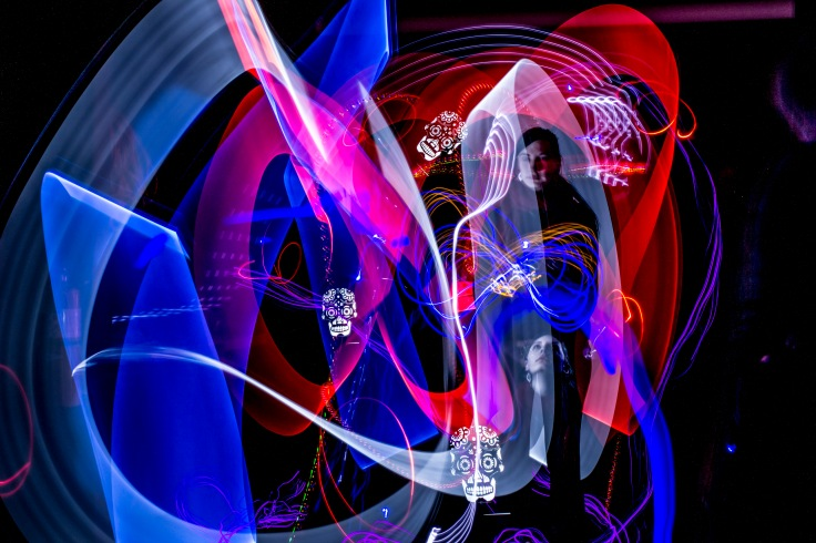 light painting demo pic