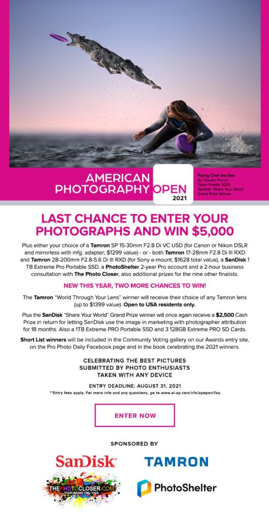 American Photography 2021 Contest Details & Link