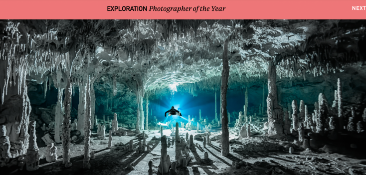 Exploration Photographer of the Year Martin Brown